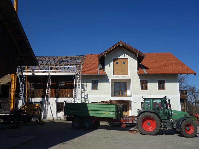 Haus am Hof Umbau